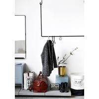 Metal Clothes Rail, ceiling mounted