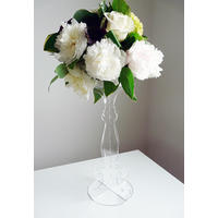Laser Cut Acrylic Flower Stand.  Blooming marvelous!