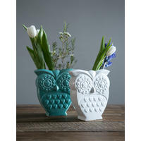 Retro Owl Vase from Rose & Grey