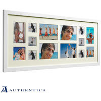 Gallery 14 Multi Frame - White