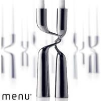 Menu Double Candle Holder
