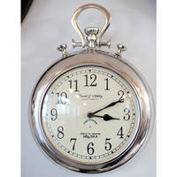 Traditional Pocket Watch Wall Clock
