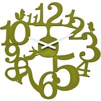 Koziol Pip Green Clock from Gifts with Style