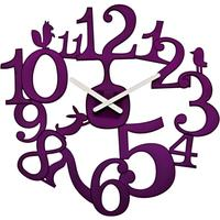 Koziol Pip Purple Clock from Gifts with Style