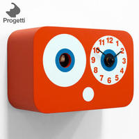 Cucchino Cuckoo Clock - Orange