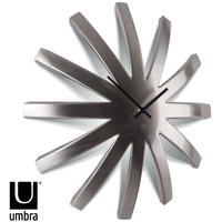Umbra Burst Metal Wall Clock