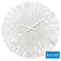 Koziol Silk Wall Clock - White