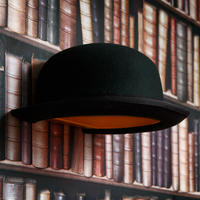 Jake Phipps Jeeves Bowler Hat Wall Lamp