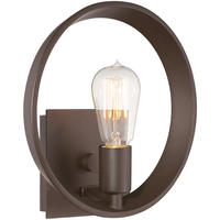 New York Industrial Bronze Wall Light