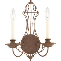 Venezia Antique Bronze Wire Wall Light