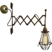 Jailhouse Extendable Swivel Wall Light