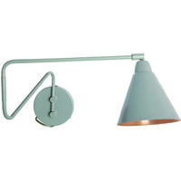 Area Grey & Copper Industrial Swivel Wall Light