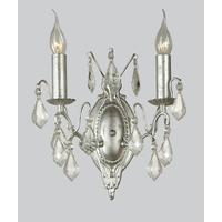 Antique Silver Wall Light