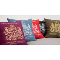 Passport Cushions from Signs for Homes