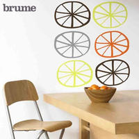 Citrus Slices Wall Stickers