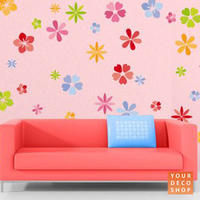 Blossoms Wall Sticker Set