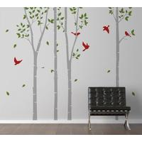 Spring Trees Wall Sticker