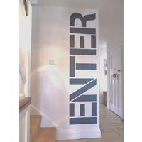 Enter Large Wall Sticker