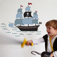 Wall Sticker Pirate Ship