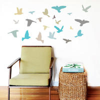 Wall Sticker Bird - Blue