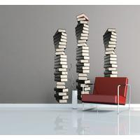 Stacks Of Books Wall Stickers