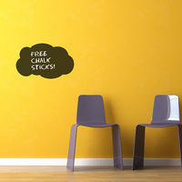 Cloud Chalkboard Sticker - Spin Wall Stickers