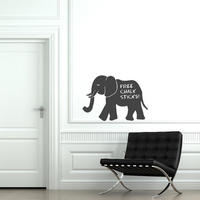 Elephant Chalkboard Sticker - Spin Wall Stickers
