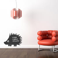 Hedgehog Chalkboard Sticker - Spin Wall Stickers