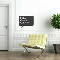 Speech Rectangle Chalkboard Sticker - Spin Wall Stickers