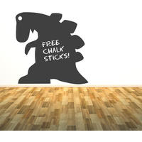 Dinosaur Chalkboard Sticker - Spin Wall Stickers