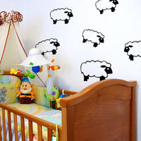 Sheep Set 1 - Spin Wall Stickers