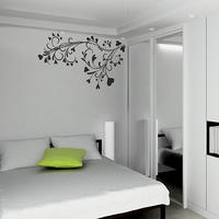Baroque Flower Wall Sticker - Spin Wall Stickers