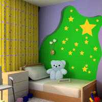 Star Set - Spin Wall Stickers