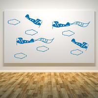 Planes Set - Spin Wall Stickers