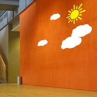 Clouds Set - Spin Wall Stickers