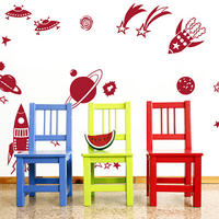 Rockets and Planets - Spin Wall Stickers