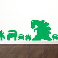Dinosaurs Set - Spin Wall Stickers