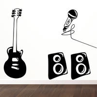 Rock Band Set - Spin Wall Stickers