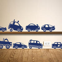 Matchbox Cars Set - Spin Wall Stickers