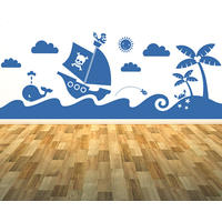 Sea Mural Sticker - Spin Wall Stickers