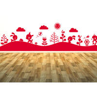 Forest Mural Sticker 1 - Spin Wall Stickers