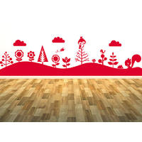 Forest Mural Sticker 2 - Spin Wall Stickers