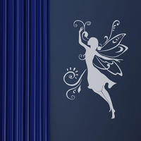 Fairy Wall Sticker - Spin Wall Stickers