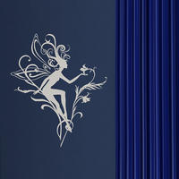 Fairy 02 Wall Sticker - Spin Wall Stickers