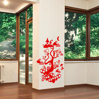 Forest Tree Creatures - Spin Wall Stickers