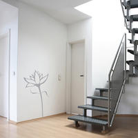 Flower 02 (1m) - Spin Wall Stickers