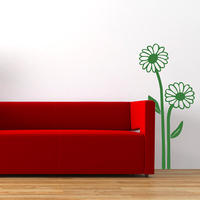 Daisy Sticker - Spin Wall Stickers