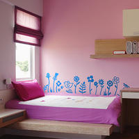 Fun Flowers Set - Spin Wall Stickers