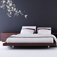 Sakura Blossom Sticker - Spin Wall Stickers
