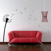 Dandelion Sticker - Spin Wall Stickers